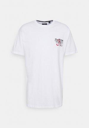FIERCE - T-shirt med print - white