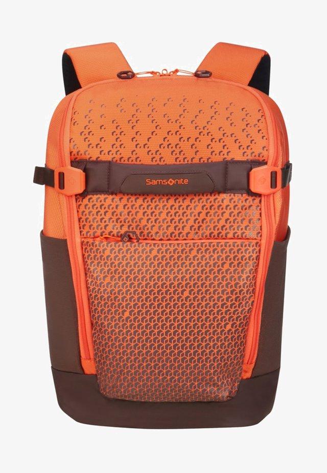 HEXA - Rucksack - orange print