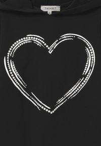 TWINSET - MAXI CAPPUCCIO - Žerzejové šaty - nero - 2