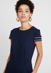 Betty & Co - Jersey dress - blue - 3