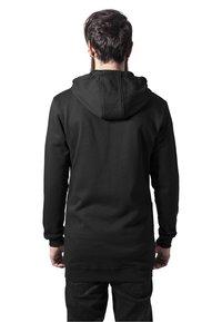 Urban Classics - Zip-up sweatshirt - black - 1