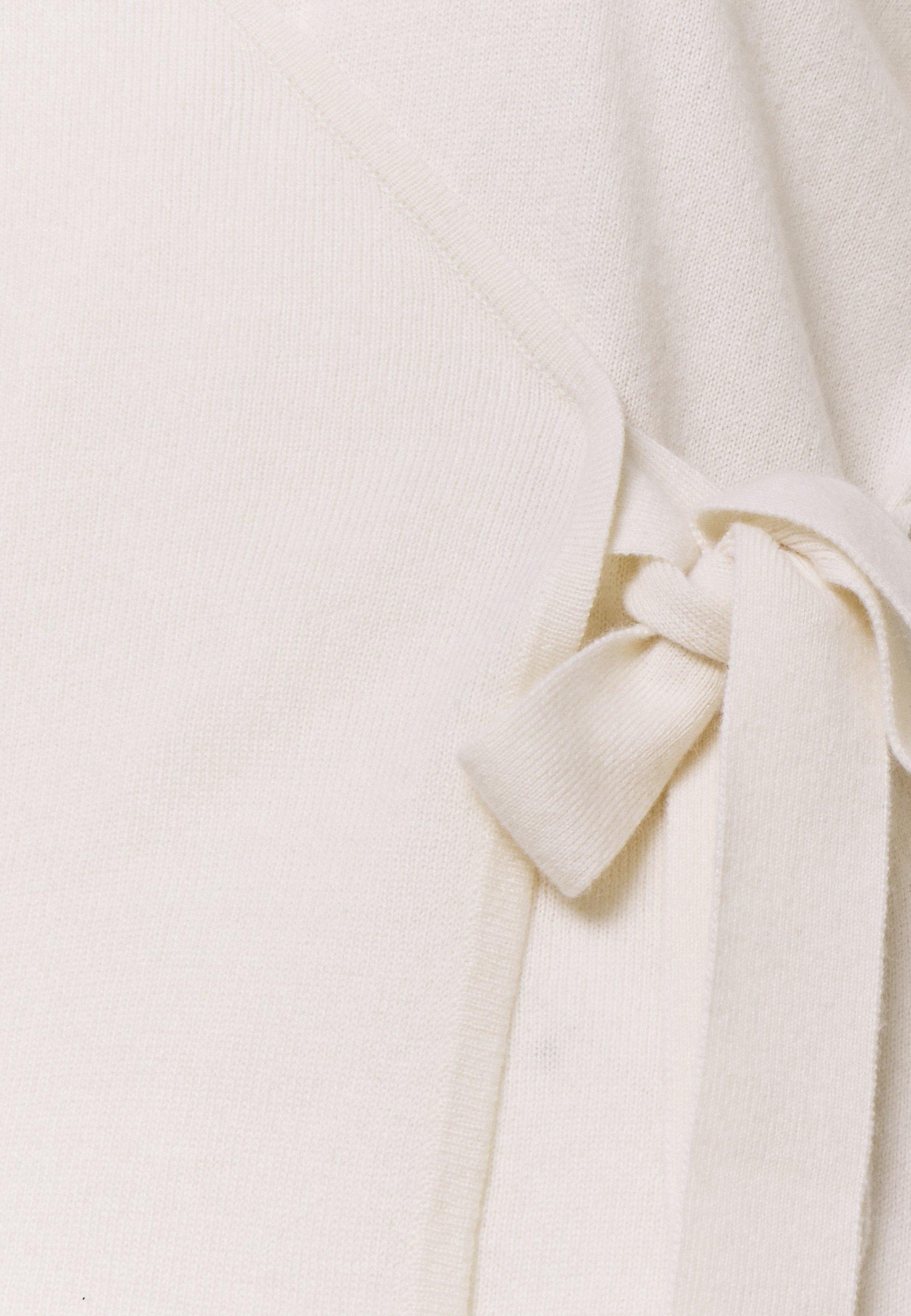Clearance Women's Clothing Davida Cashmere WRAP Cardigan white sLz7FBbnA