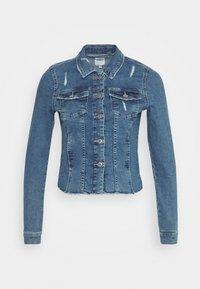ONLWESTA DESTROY JACKET - Denim jacket - medium blue denim