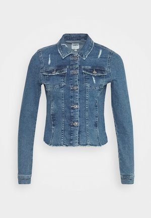 ONLWESTA DESTROY JACKET - Denim jacket - medium blue denim