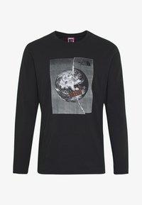 The North Face - MENS GRAPHIC TEE - Långärmad tröja - black/white - 4