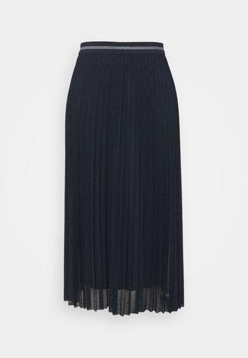 ORCHIDEA - A-line skirt - blue