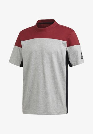 ADIDAS Z.N.E. T-SHIRT - Print T-shirt - grey