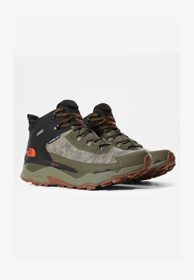 M VECTIV EXPLORIS MID FUTURELIGHT - Chaussures de marche - mtryolvcldcmwshprnt/tnfbk