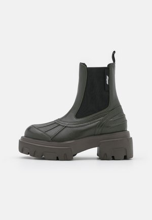 STIVALE DONNA BOOT - Platform ankle boots - military green