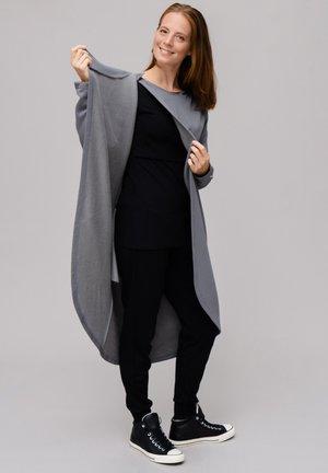 Zip-up hoodie - steel grey