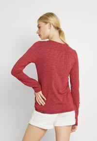 Ragwear - PINCH - Long sleeved top - chili red - 2
