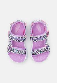 Skechers - HEART LIGHTS - Sandals - white/multicolor - 3