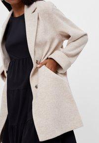 Bershka - Short coat - beige - 3