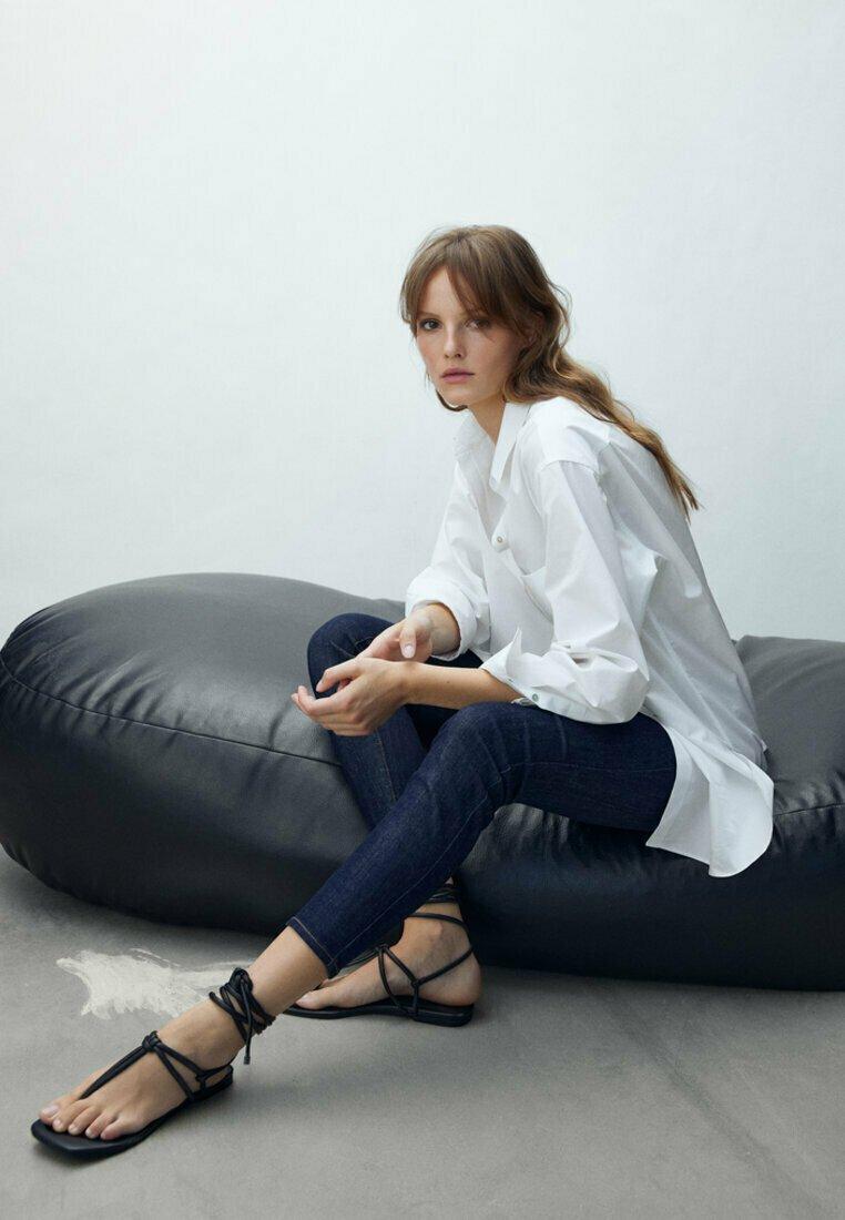 Massimo Dutti - Jeans Skinny Fit - dark blue