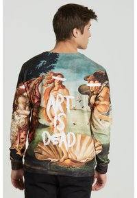 Mr. GUGU & Miss GO - ART IS DEAD - Sweatshirt - beige, light blue - 2