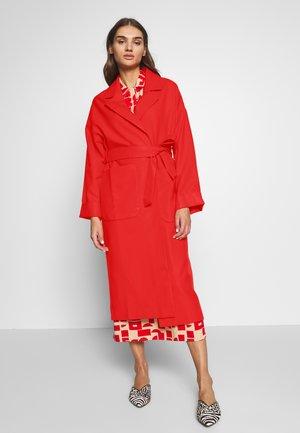 SANTO COAT - Classic coat - rot