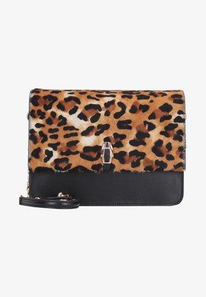 Schoudertas - leopard