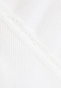 Monki - Top sdlouhým rukávem - white light - 5
