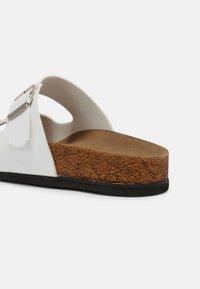 Trendyol - ROSE - Slippers - white - 5