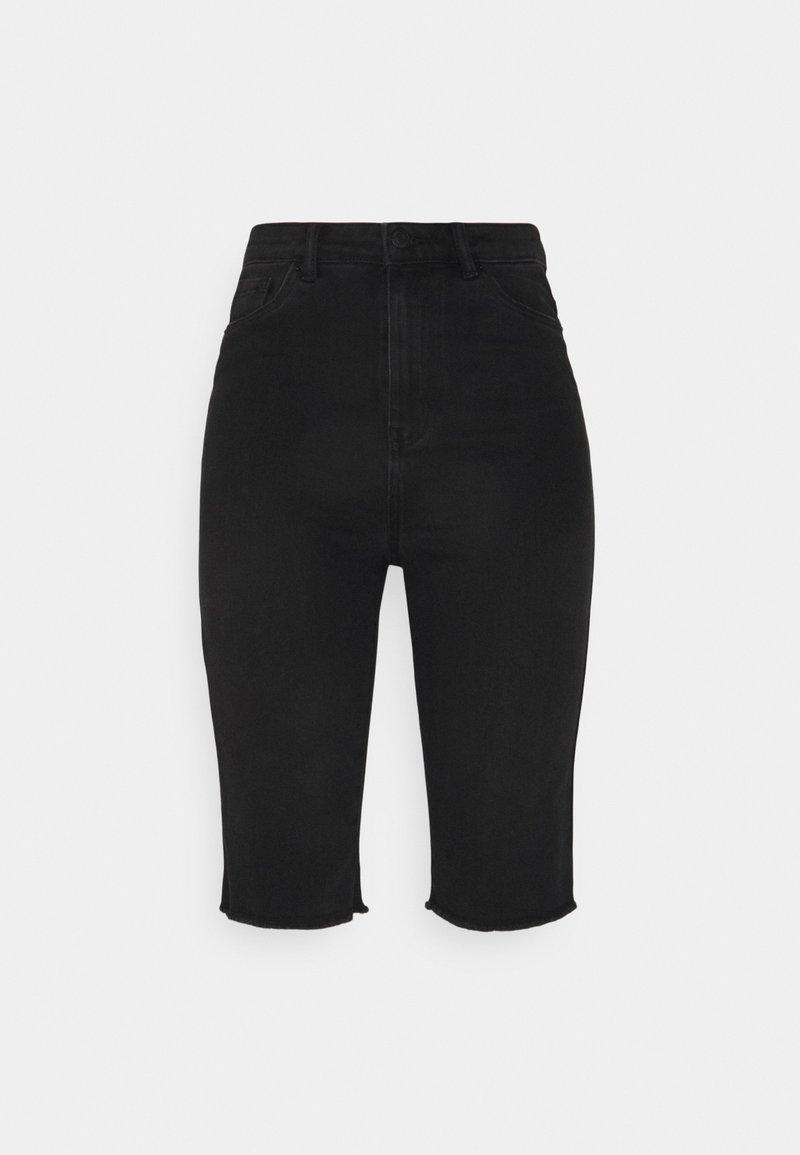Vero Moda Tall - VMLOA FAITH  - Denim shorts - black