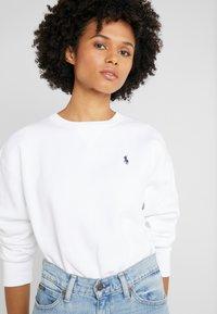 Polo Ralph Lauren - LONG SLEEVE - Sweatshirt - white - 3