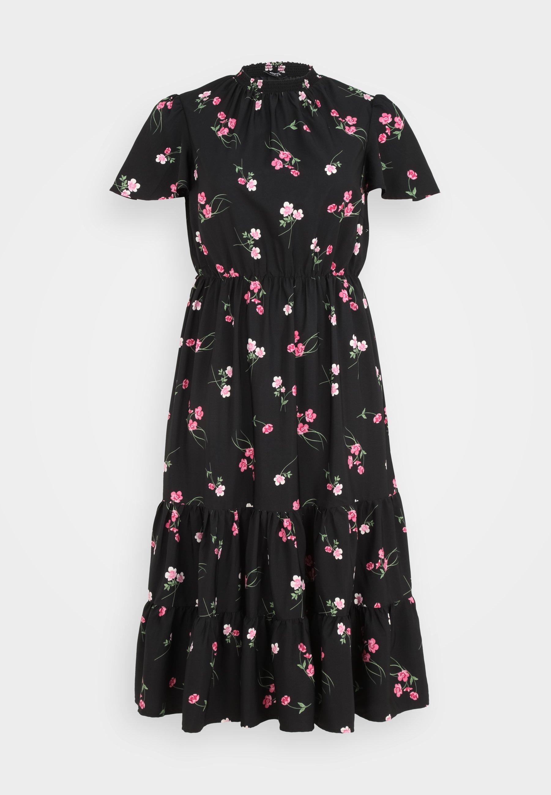 Women TIERED SLEEVE DRESS - Maxi dress