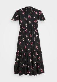 Simply Be - TIERED SLEEVE DRESS - Maxi dress - black - 0