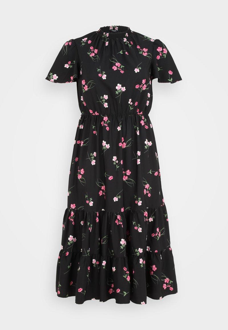 Simply Be - TIERED SLEEVE DRESS - Maxi dress - black