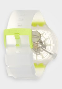 Swatch - YELLOWINJELLY - Zegarek - transparent/yellow - 1