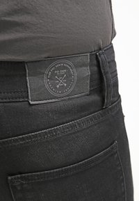 Pier One - Jean slim - black denim - 4