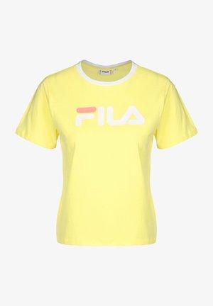 T-SHIRT SALOME - Print T-shirt - limelight