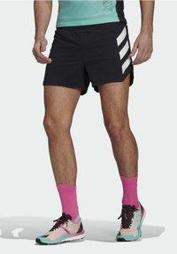 adidas Performance - Agravic PRO SHORT TECHNICAL AEROREADY TRAIL RUNNING SHORTS - Shorts - black - 0
