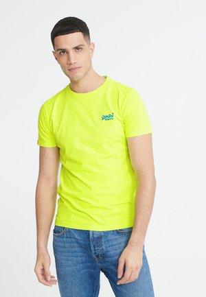 NEON LITE TEE - Basic T-shirt - neon yellow