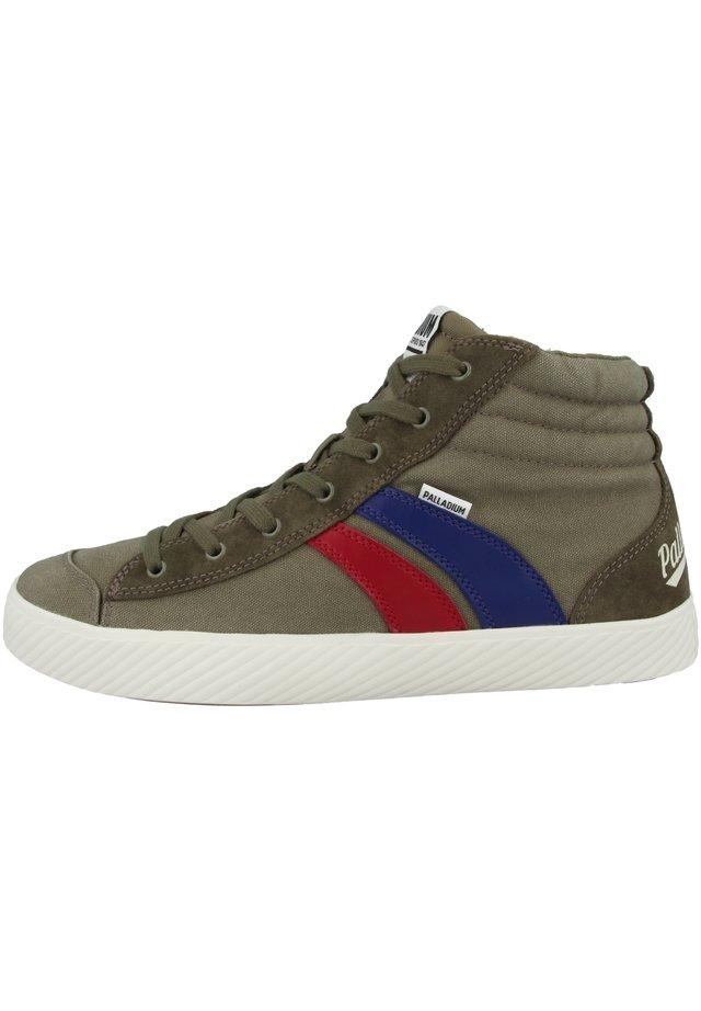 Sneakers hoog - dusky green (76191-377)
