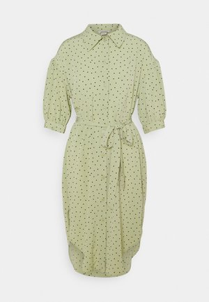 VALMA DRESS - Paitamekko - green dusty light