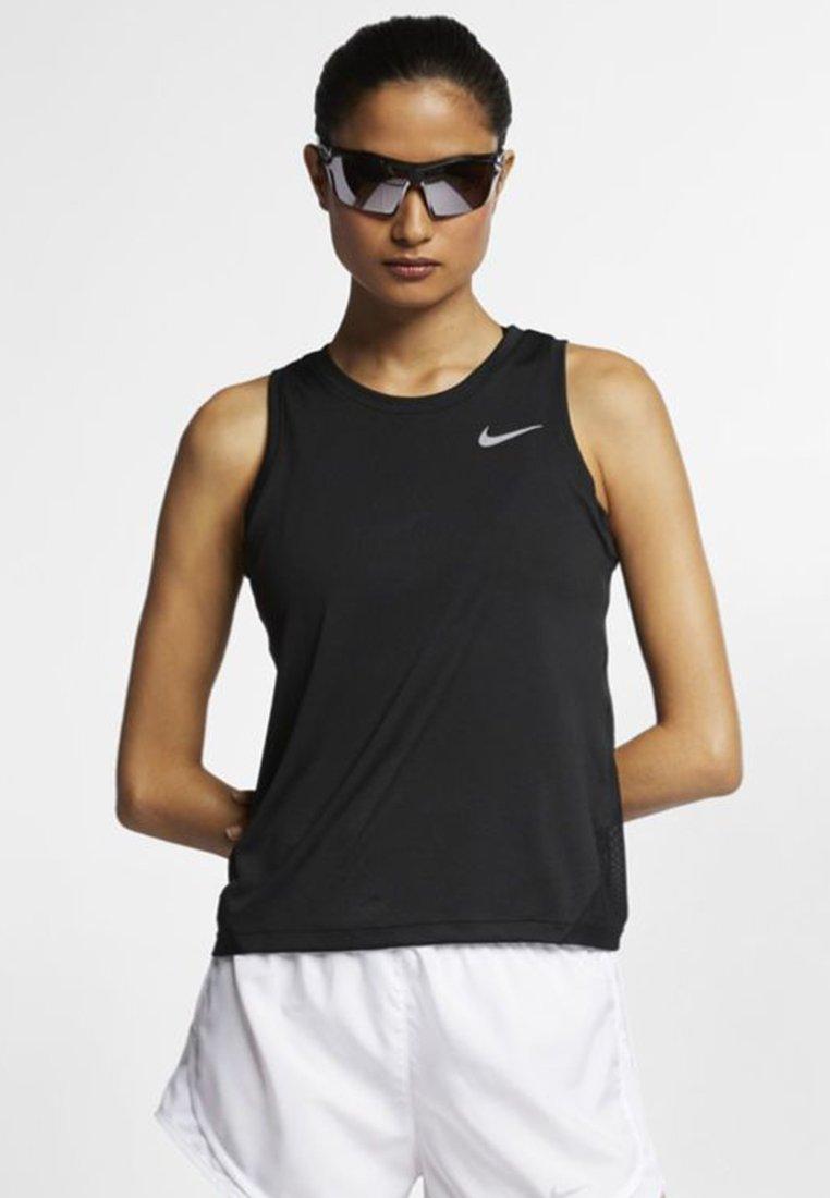 Nike Performance - MILER TANK - Sportshirt - black
