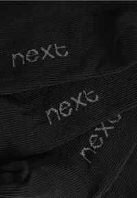 Next - TEN PACK - Trainer socks - black - 2