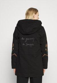Desigual - Classic coat - black - 2
