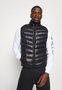 CLOSURE London - QUILTED GILET - Waistcoat - black - 0
