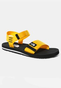 The North Face - M SKEENA SANDAL - Walking sandals - summit gold tnf black - 4