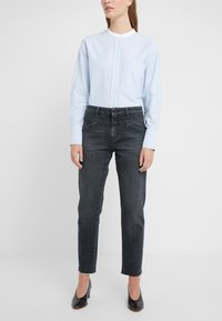 CLOSED - CROPPED X - Straight leg jeans - dark grey - 0