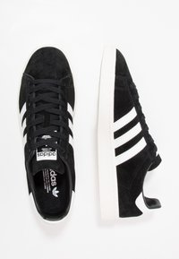 adidas Originals - CAMPUS - Baskets basses - core black/footwear white/chalk white - 1