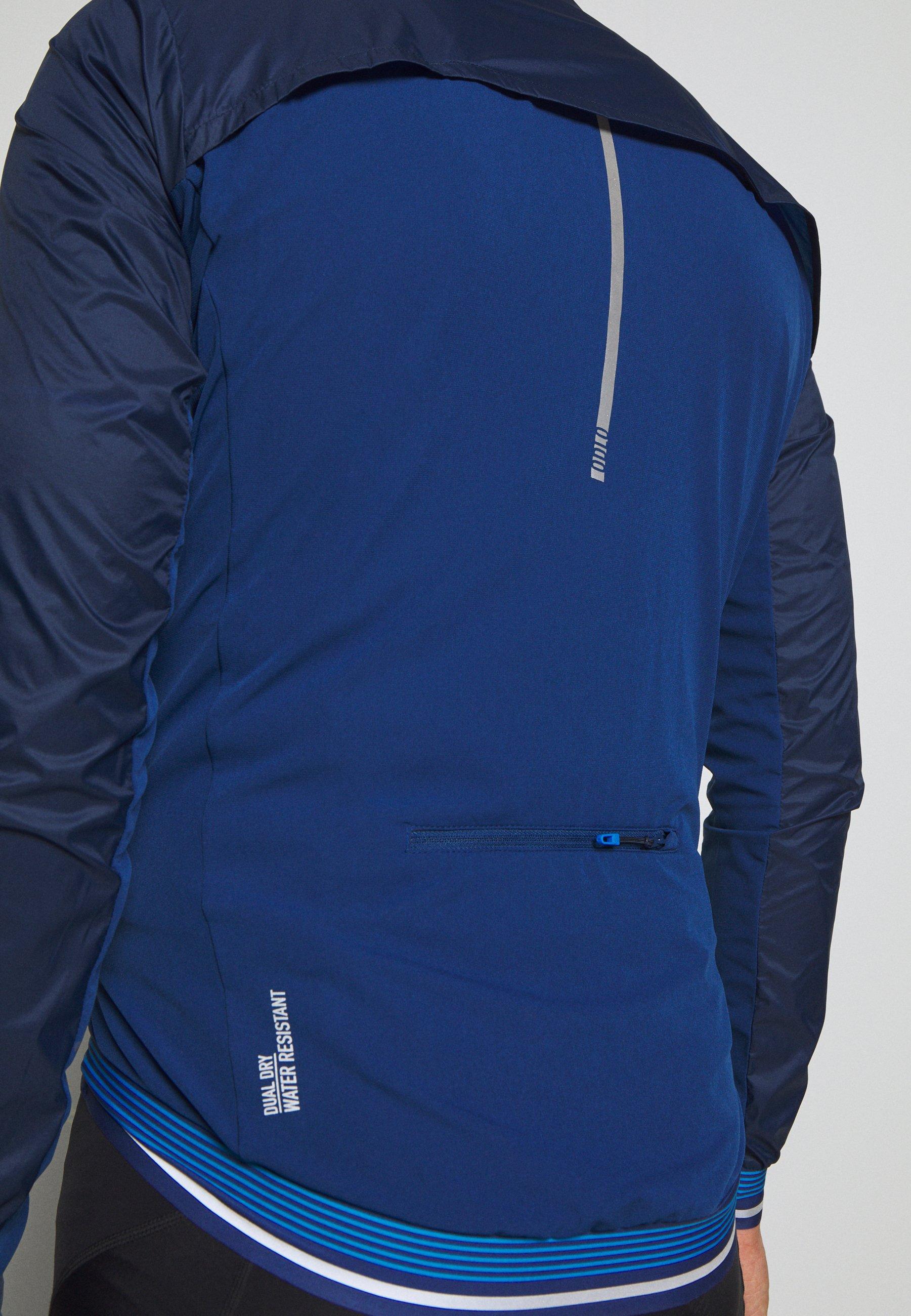 ODLO JACKET ZEROWEIGHT DUAL DRY - Veste coupe-vent - estate blue