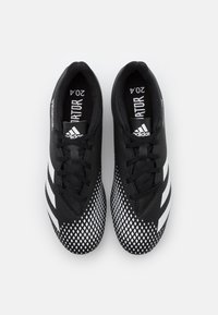 adidas Performance - PREDATOR 20.4 FOOTBALL BOOTS FIRM GROUND - Voetbalschoenen met kunststof noppen - core black/footwear white - 3