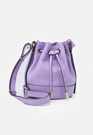 TINA KUNAKEY SMALL BUCKET - Across body bag - purple