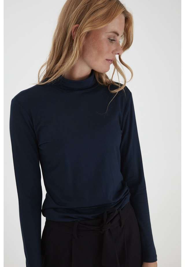 DRVORSI 8  - Long sleeved top - dark sapphire
