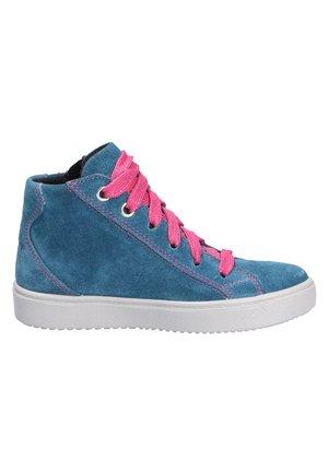 Casual lace-ups - blaurosa (8010)