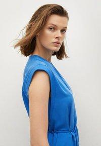 Mango - VESTIDO - Korte jurk - azul - 4