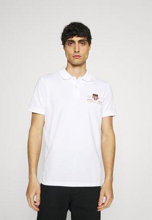 ARCHIVE SHIELD - Polo shirt - white