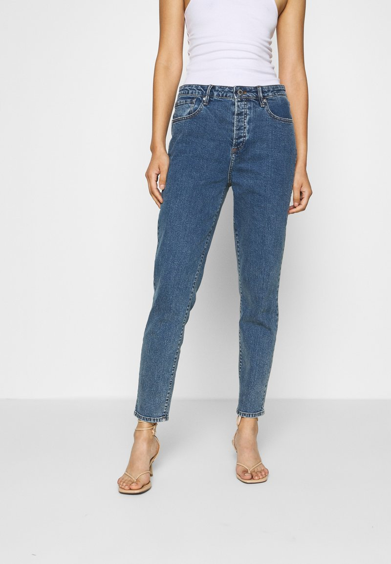 Pieszak - BRENDA MOM NOTTING HILL - Slim fit jeans - denim blue